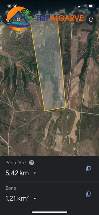Tripalgarve Aljezur 35 ha TARM0076T #tripalgarve #plot #seaview #ruin #agriculture #aljezur #property (6)