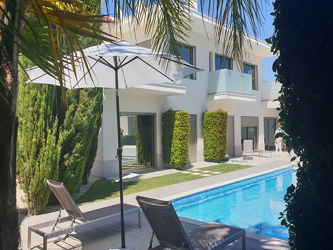 Tripalgarve immobilier albufeira Splendide Villa moderne à Galé